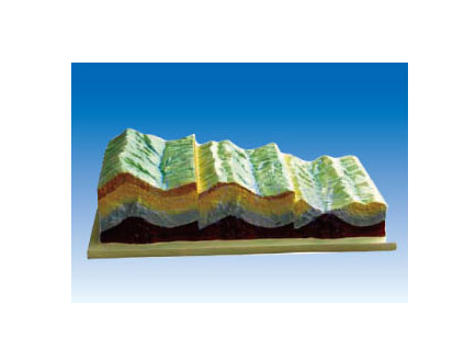 ZM7202 褶皱构造及地貌演变模型