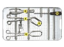 重建钢板器械包 1217